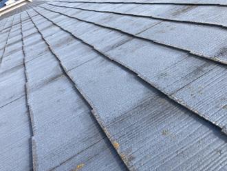 スレート屋根の状態を確認