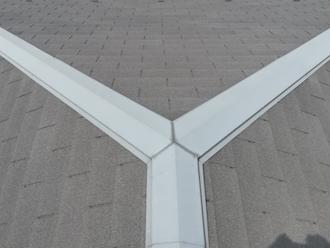 千葉市緑区誉田町にて屋根と外壁の点検調査、屋根塗装と一緒に棟板金の補修も行いましょう