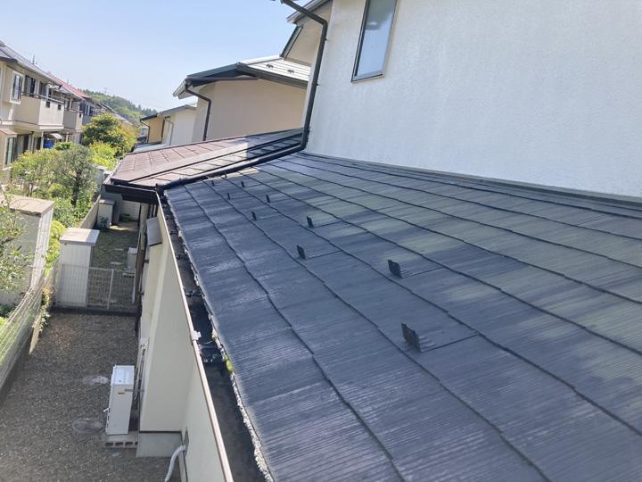 四街道市大日にて屋根の塗膜劣化についてご相談を頂きましたので調査を実施しました