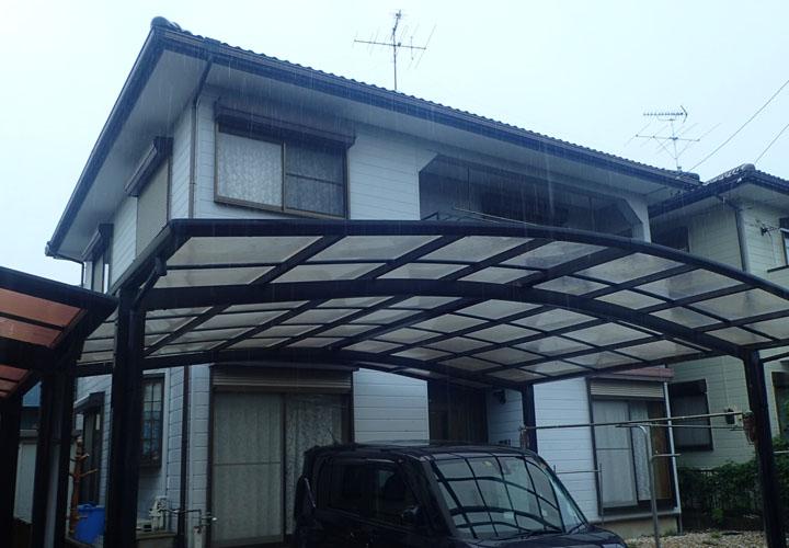 屋根・外壁塗装を検討中の邸宅