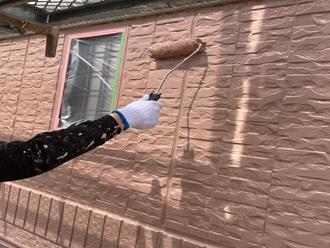 千葉市中央区今井町にてプレミアシリコンを使用した外壁塗装工事