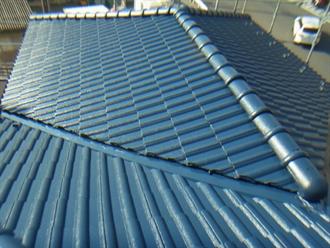 ルーフマイルドによる屋根塗装