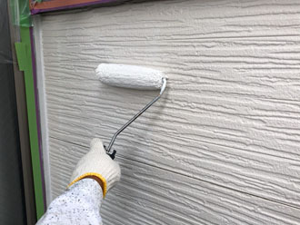 水性サーモアイウォールSiで外壁塗装