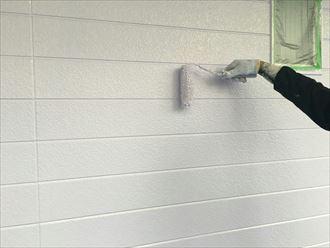 ホワイト系の外壁塗装