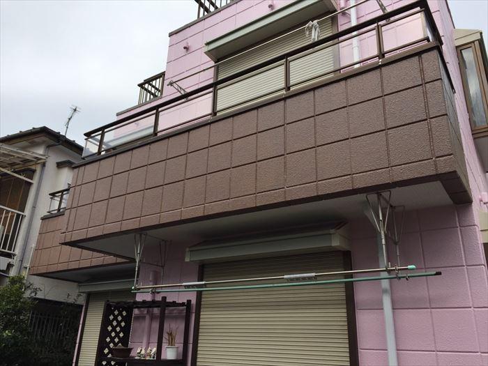 足場解体,外壁塗装工事
