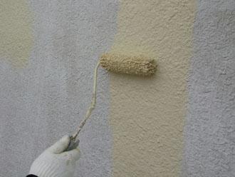 パーフェクトトップ ND-109でモルタル外壁塗装