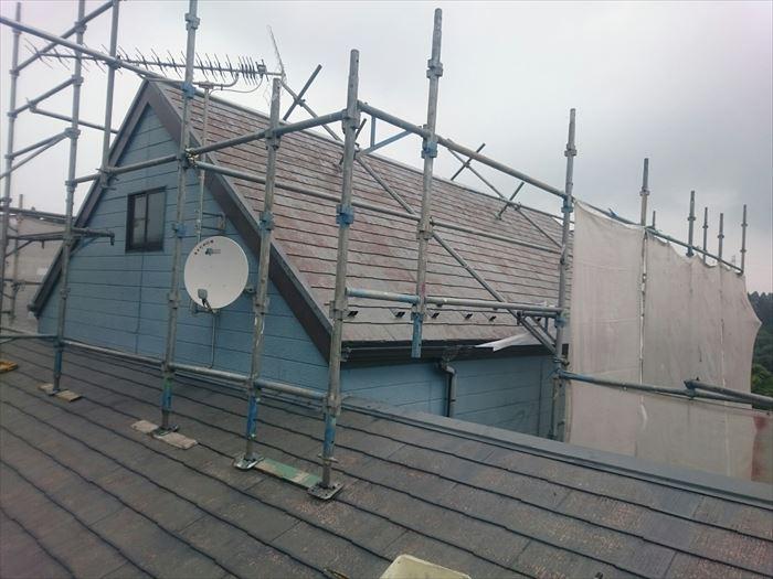 急こう配の屋根