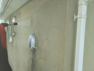 ジョリパッドの高圧洗浄