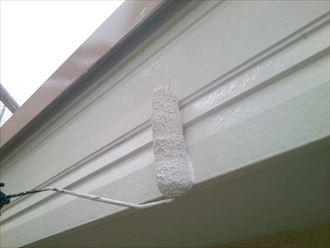 破風板の塗装