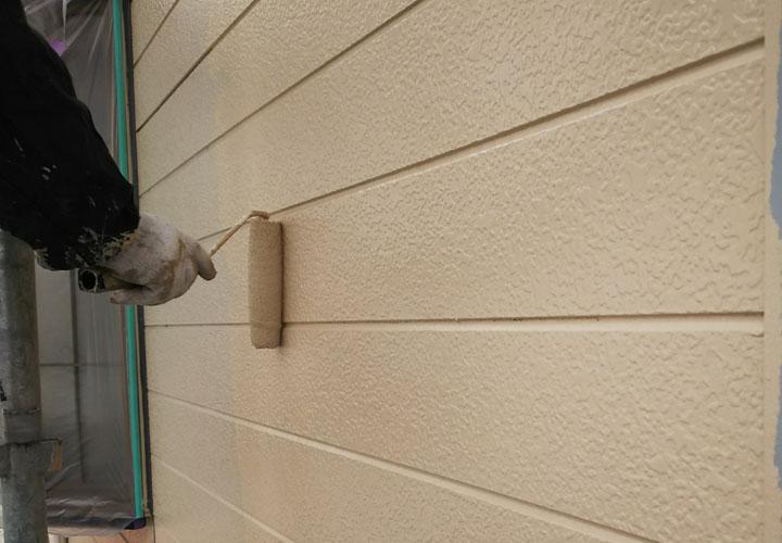 ナノコンポジットW NC-15で窯業サイディング外壁の塗装