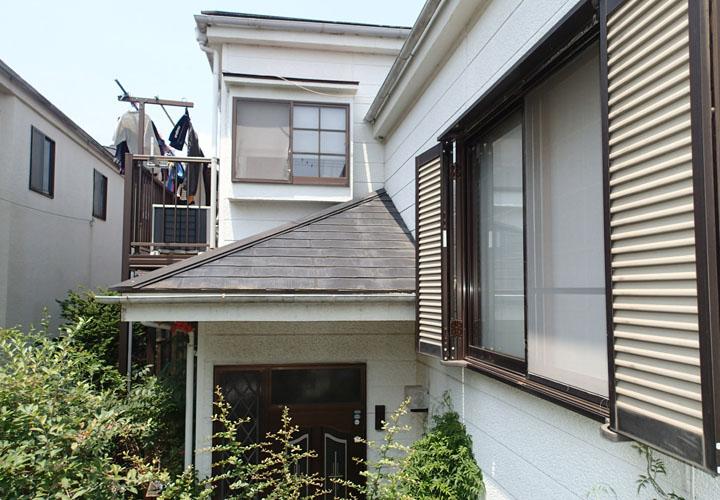 外壁塗装を検討検討している住宅 カラーシミュレーション 元画像