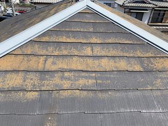 屋根の劣化状態