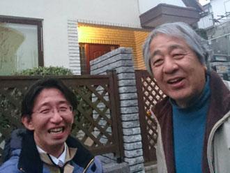 鎌ヶ谷市Y様とスタッフ