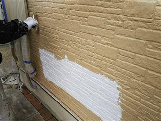 外壁塗装,中塗り