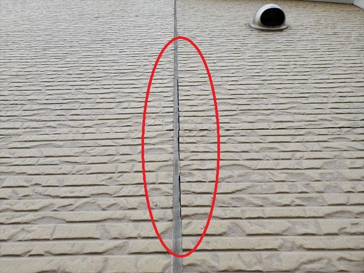 シーリングの剥離は雨漏りやサイディングの破損に繋がります