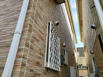 八千代市上高野にてサイディング外壁調査