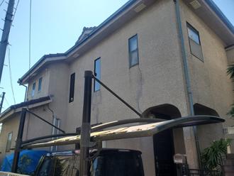 築28年になり外壁塗装を検討している邸宅