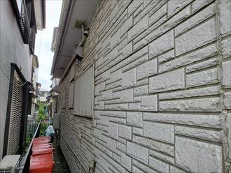 市川市塩焼にて防水性が低下しているサイディング外壁のメンテナンスのご相談