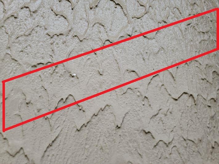モルタル外壁のヘアクラック