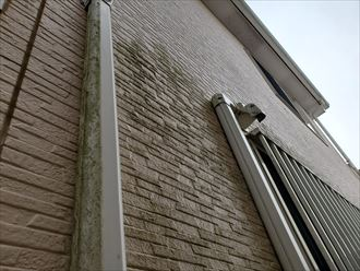 防水性が低下したサイディング