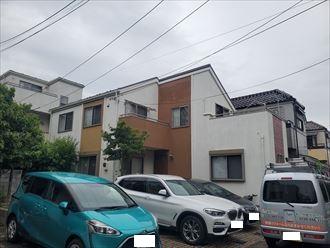 浦安市にて外壁塗装