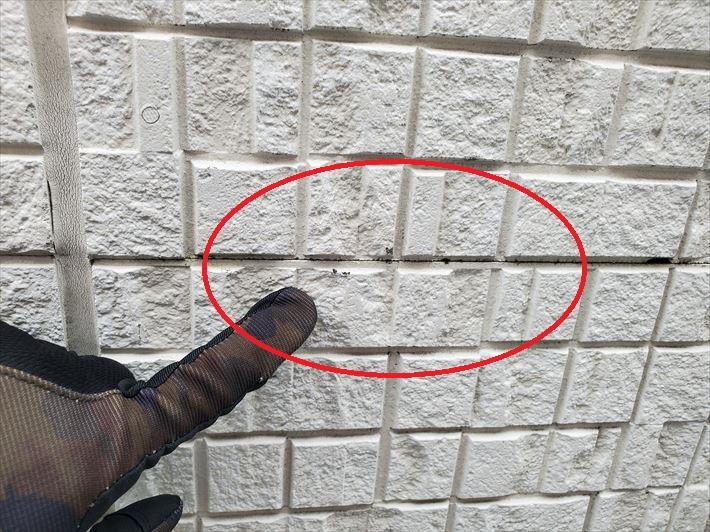 船橋市葛飾町にて築13年が経過したサイディング外壁のメンテナンスのご相談