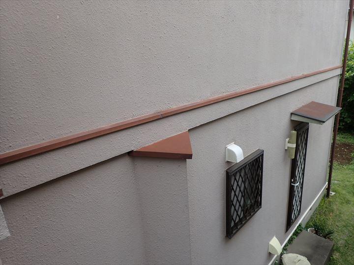 四街道市みそらで行った築25年が経過した外壁調査で鉄部の塗装の劣化を発見