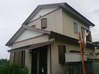 屋根外壁塗装前