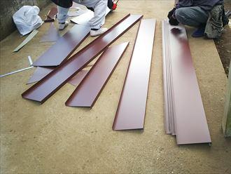 ガルバリウム鋼板の加工