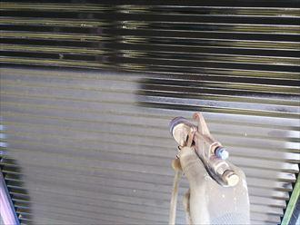 スプレーガン吹き付け塗装