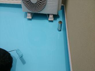 ウレタン防水,通気緩衝工法
