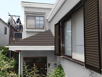 外壁パーフェクトトップ ND-400 屋根スーパーガルテクト シェイドブラウン
