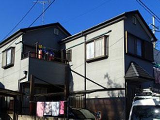 屋根外壁塗装を検討している邸宅