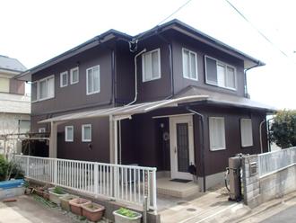 サーモアイSi、パーフェクトトップ(H09-20B)を使用した屋根外壁塗装が竣工