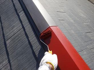 板金部の下塗り,錆止め