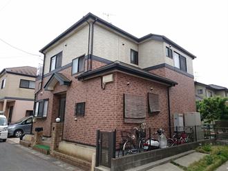 千葉市花見川区で屋根塗装