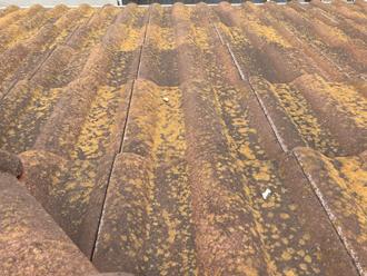 屋根の塗膜劣化