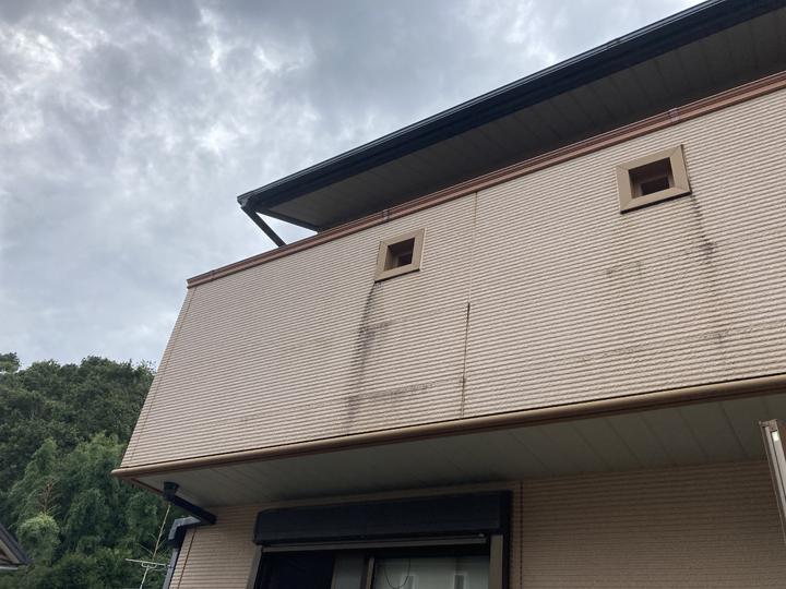工事前外壁