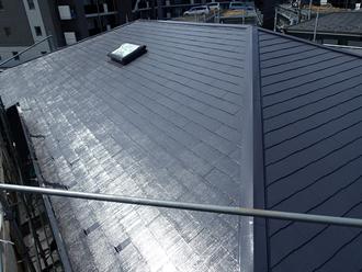 サーモアイSiによる屋根塗装工事完了