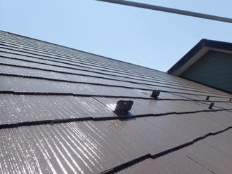 サーモアイSiで塗装した屋根