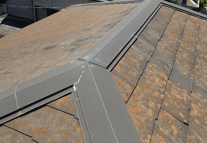 スレート屋根の劣化点検