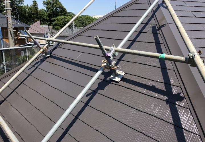 ファインパーフェクトベストで屋根塗装