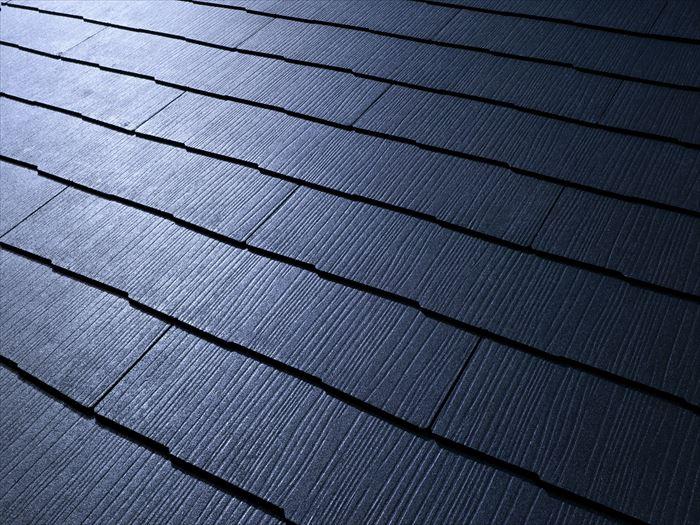 遮熱機能のある屋根材