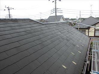 洗浄後の屋根材