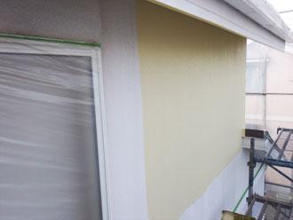 2階の塗装