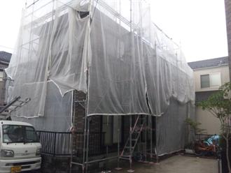 八千代市大和田新田の屋根塗装工事