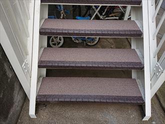 階段ステップ交換