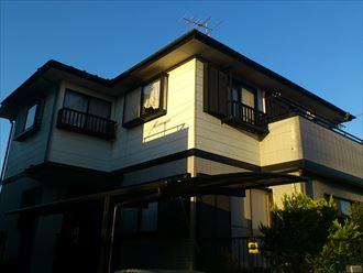 千葉市緑区あすみが丘の屋根外壁塗装前点検
