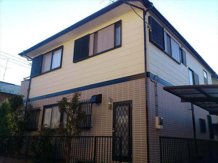 屋根外壁塗装工事完了