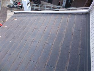 スレート屋根の状態確認